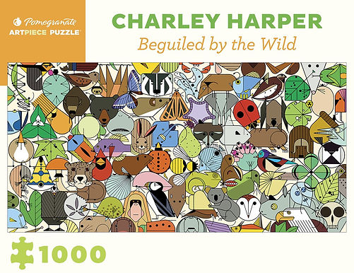 Charley Harper: Beguiled by Wild 1000-Piece