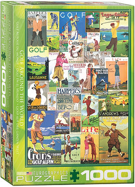 Golf Around the World - 1000 Pieces