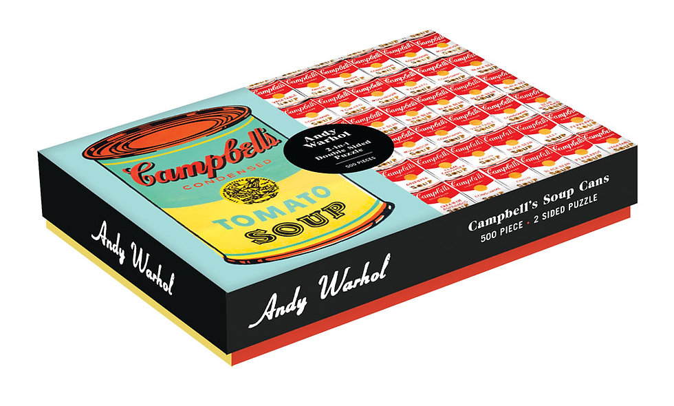 Andy Warhol Campbell's Soup Can Double Sided