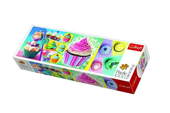 Colourful Cupcakes 1000 Pieces