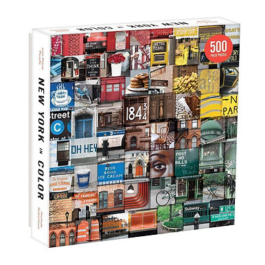 New York in Colour -  500 Pieces