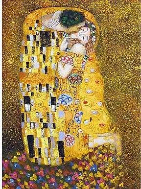 Klimt : The Kiss - 1000 Pieces