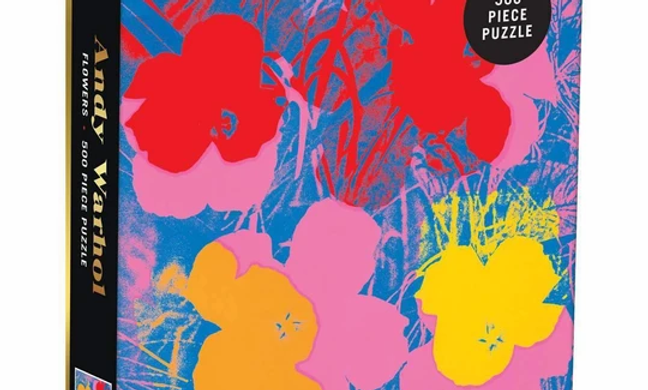 Andy Warhol - Flowers - 500 Pieces
