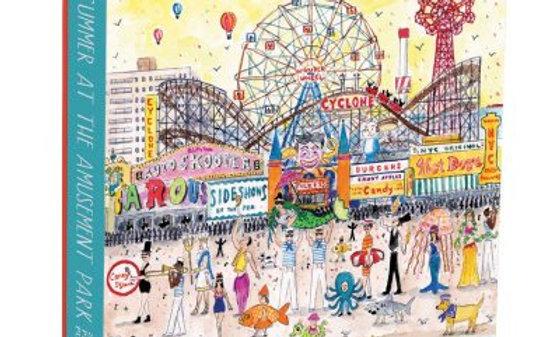 Michael Storrings Summer At The Amusement Park - 1000 Pieces