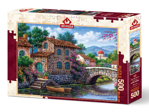 Flowery Channel - 500 Pieces