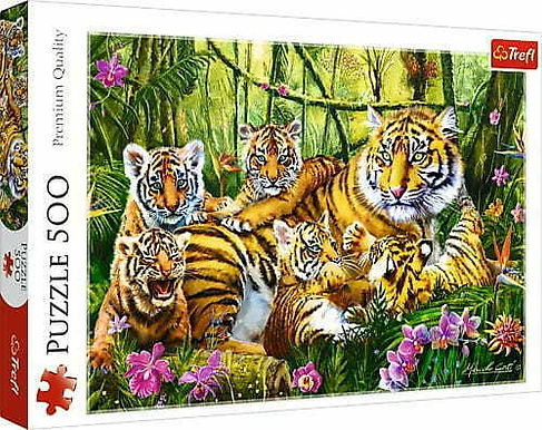 The Tiger Family 500 Pieces