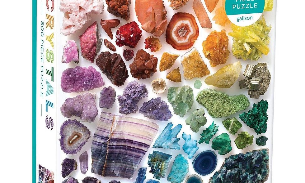 Rainbow Crystals -  500 Pieces