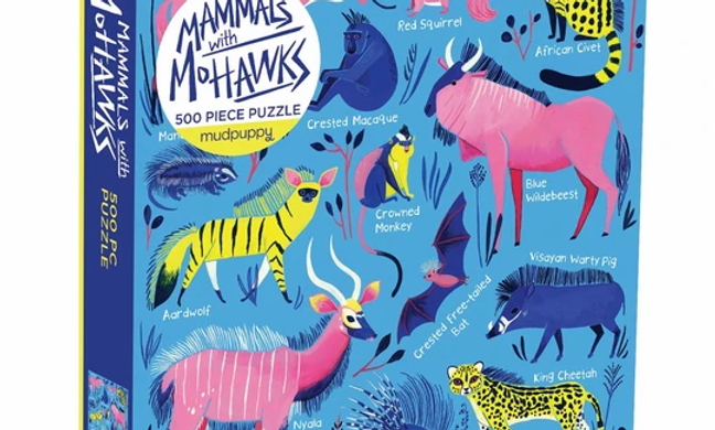 Mammals With Mohawks - 500 Pieces