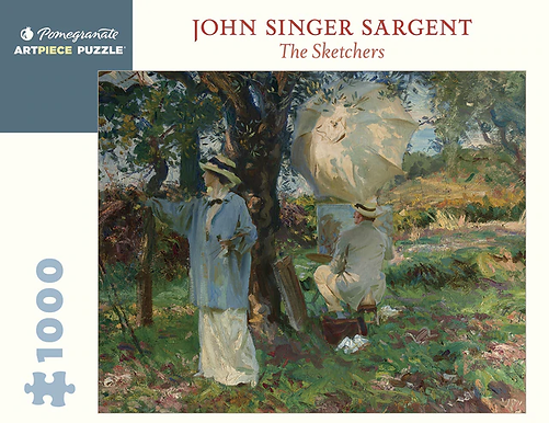 John Singer Sargent: The Sketchers 1000-Piece