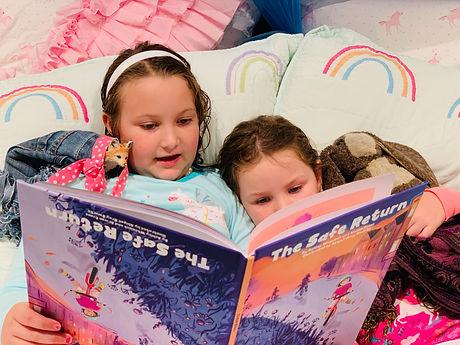 Kids reading The Safe Return