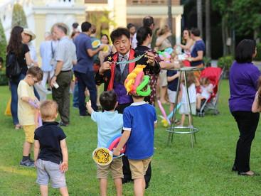 Trad&Corp active at Sponsor Pole of Bangkok Accueil