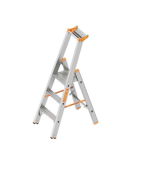 Layher Stehleiter Stufenstehleiter - Länge 1,45m - 3,70m