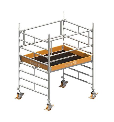 Fahrgerüst Layher Uni Kompakt P2 - 1,50m x 1,80m Plattform