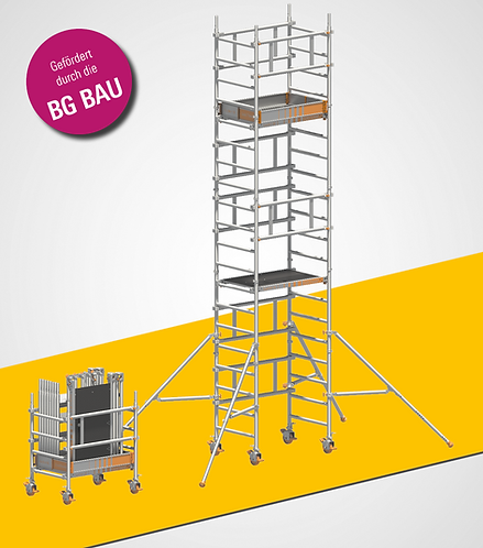 Rollgerüst Layher Solo Tower - 4,15 m - 6,15 m