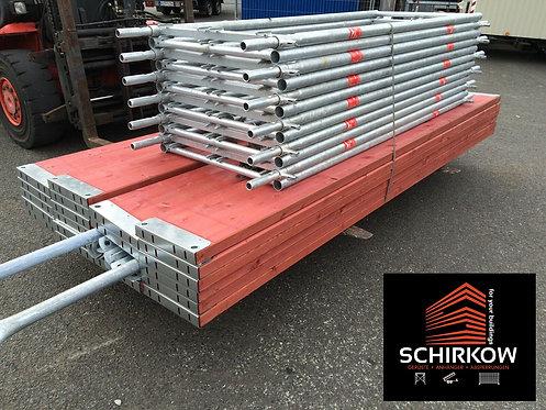 Plettac SL70 Gerüst 1.000 m² - 3m Feld - Stahl Fassadengerüst Original