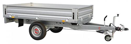 Stema SySTEMA Aluminium Hochlader Einachser ungebremst - ALU SH O1 7.5-21-13.1