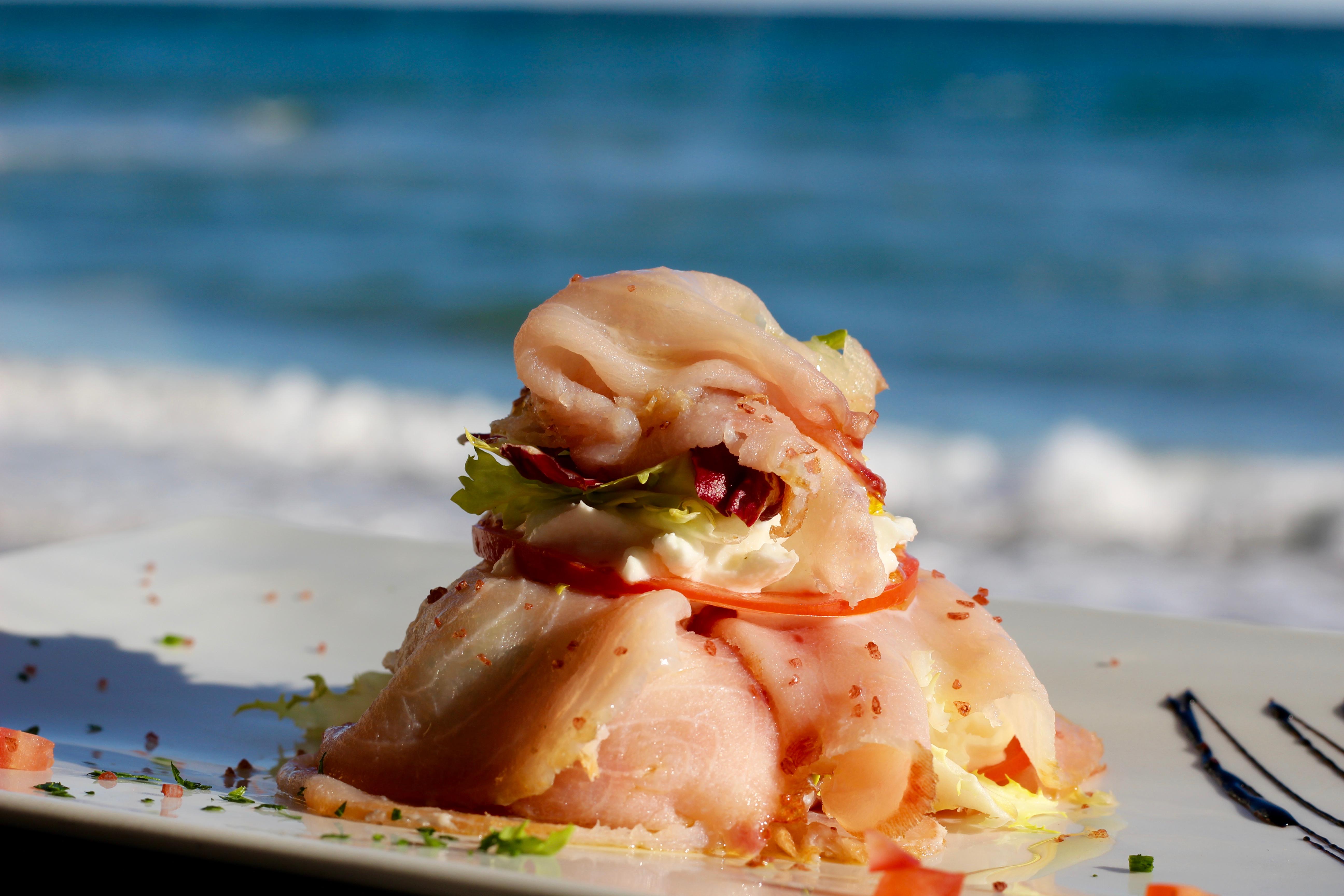 piatto di mare ad alassio