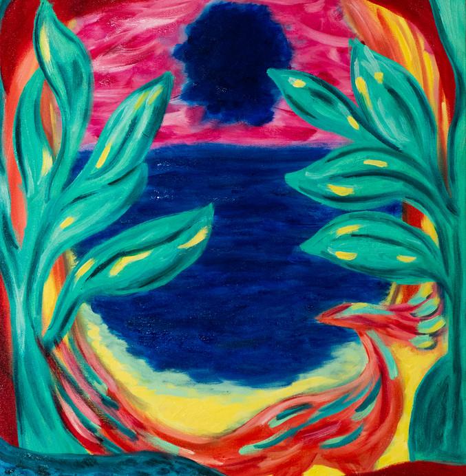 Dawn of Blue Sun
