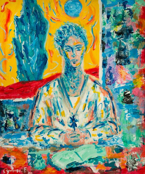 Monk in Star