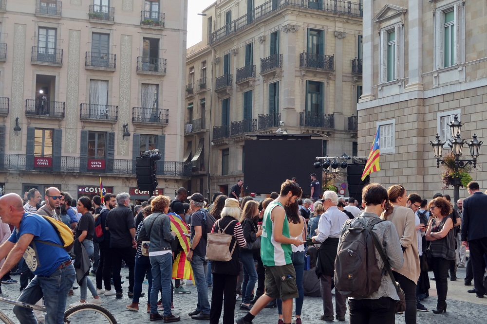 protests barcelona