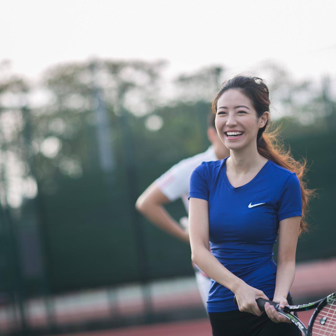 banana tennis session