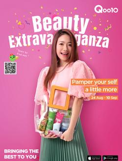 Qoo10 Beauty Extravaganza