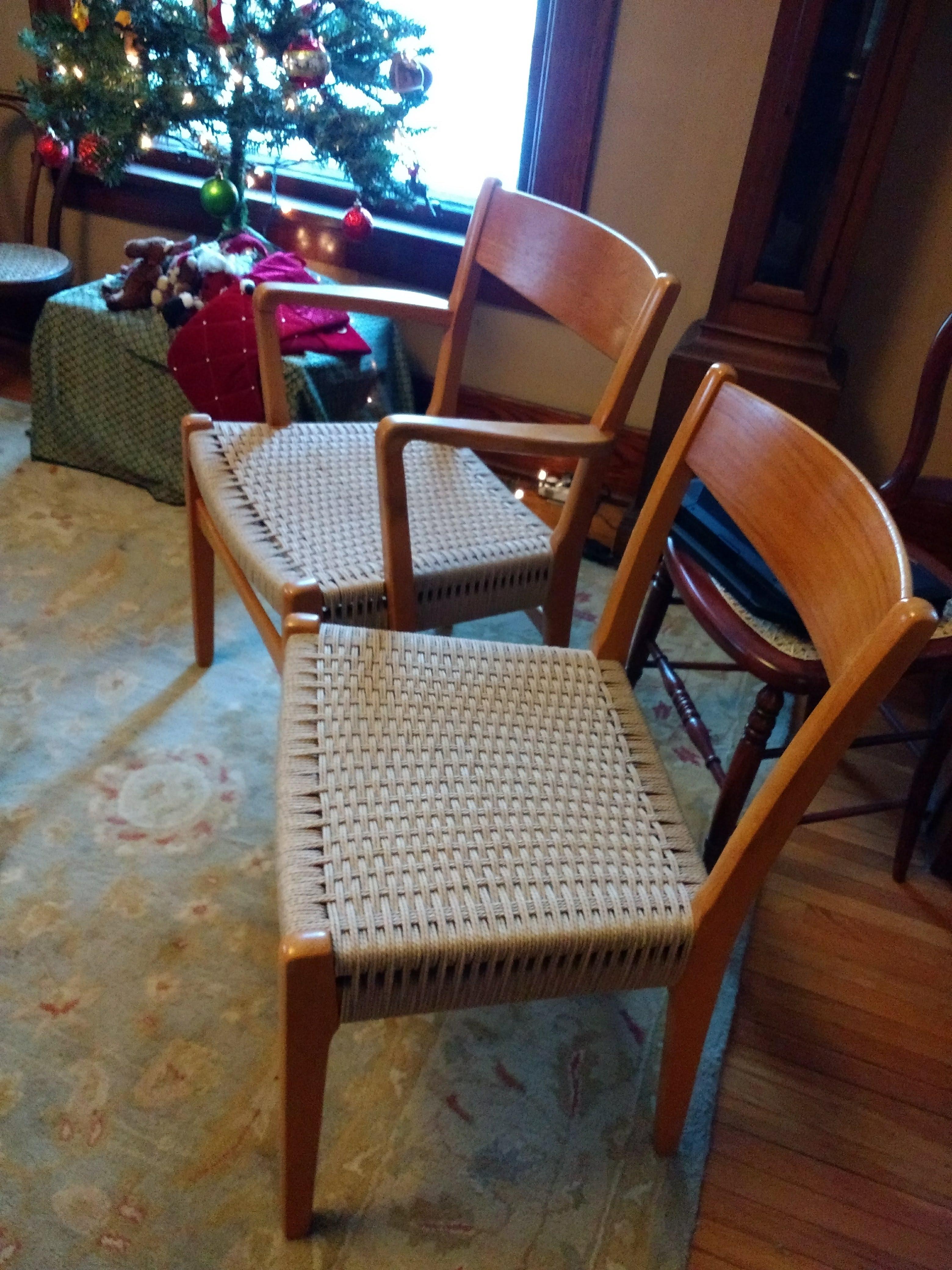 Danish Cord Chairs