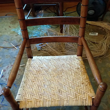 Herringbone Binder Cane Weaving
