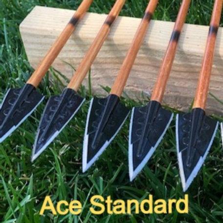Kashtuk Hunters w/ Ace or Zwickey Broadheads (3)