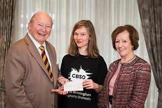 City of Birmingham Symphony Orchestra Clive Sylvia Richard Charity donation £250,000