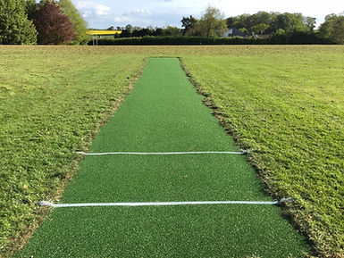Queen Elizabeth School and Bromyard Cricket Club artificial pitch mat