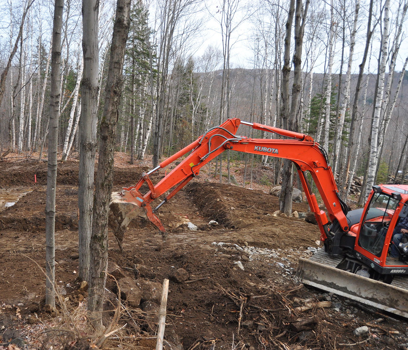 Excavation Mont-Tremblant