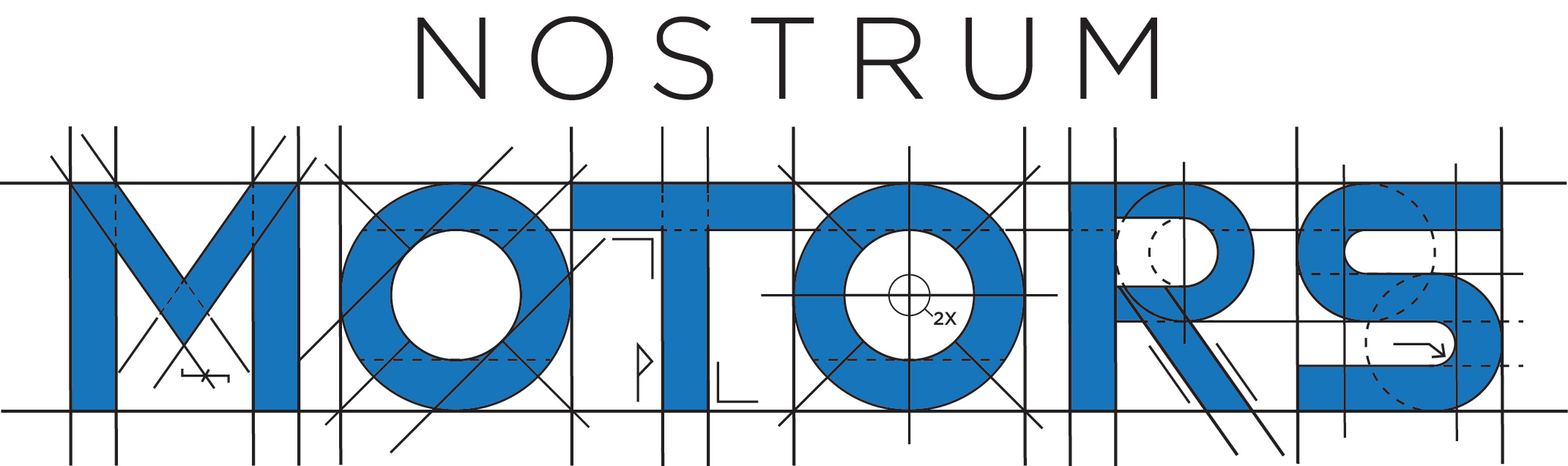 Nostrum Motors Logo Final
