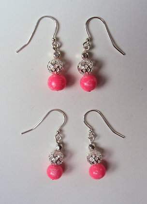 Color Me Pink Earrings