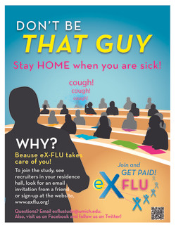eX-FLU Dorms Poster