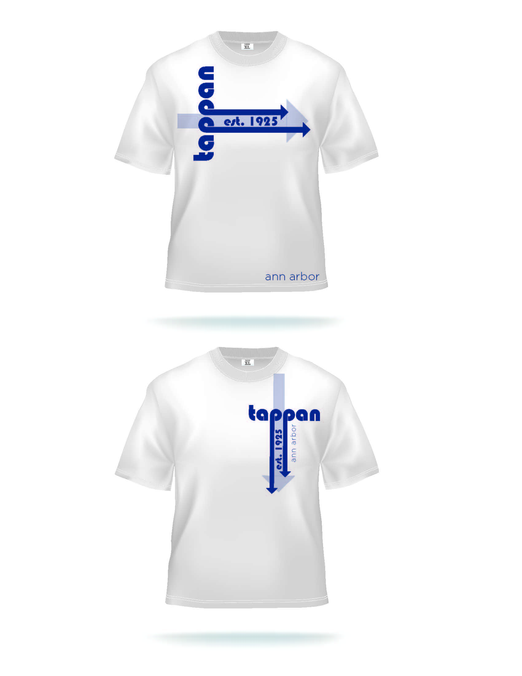 Tappan T-shirt Designs