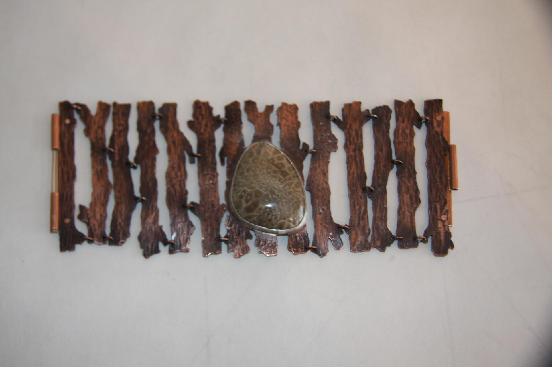 Petoskey Stone & Branch Bracelet $60