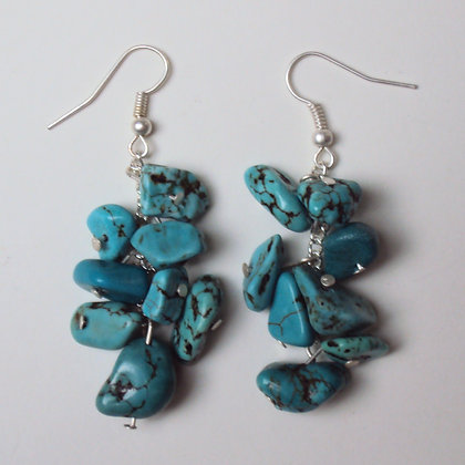 Rocky Blue Earrings