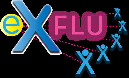 eX-FLU Logo