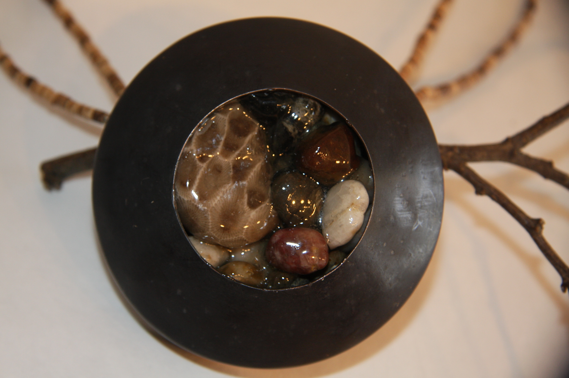 Petoskey Stone Chest Piece - $80.00
