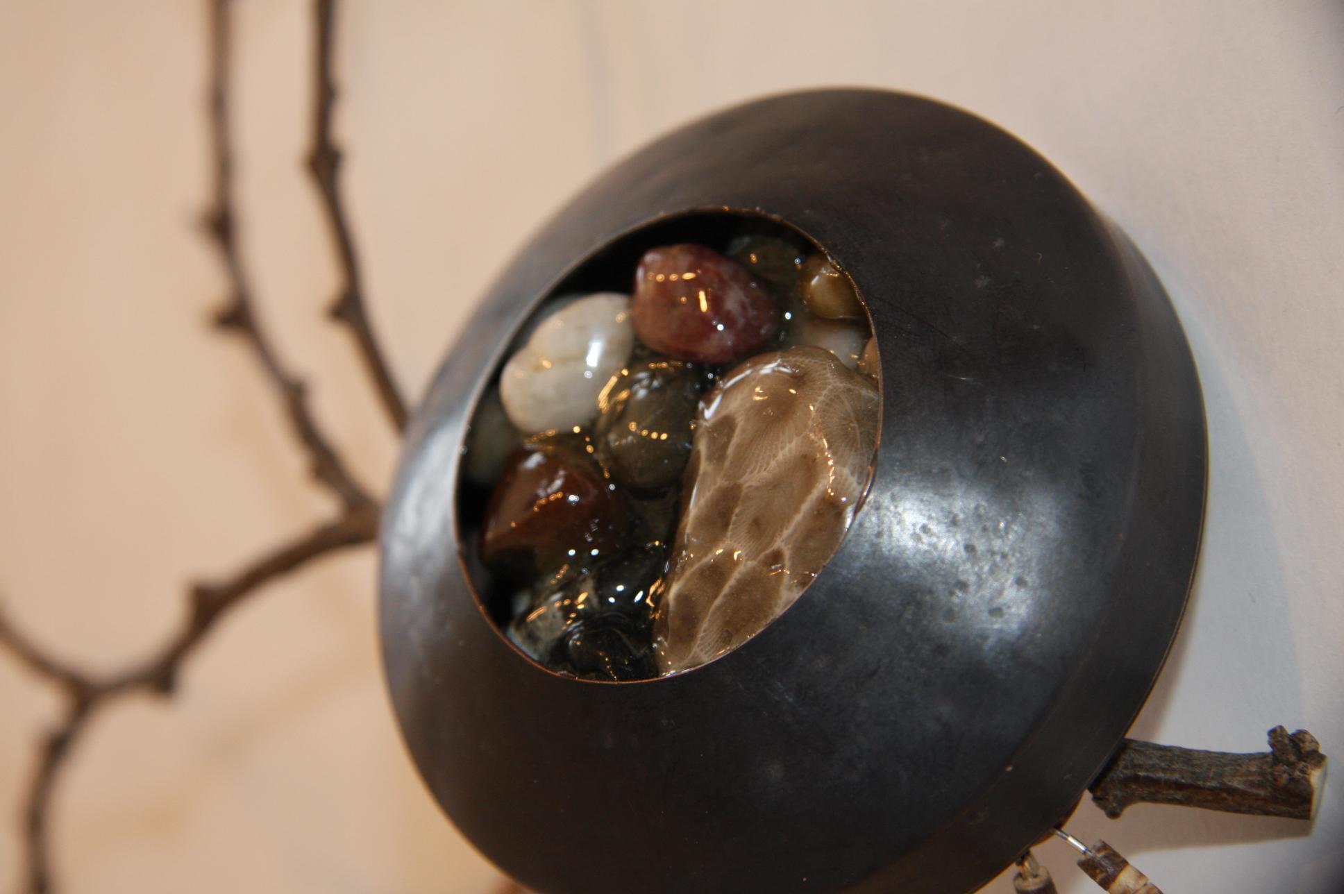 Petoskey Stone Chest Piece - $80.00