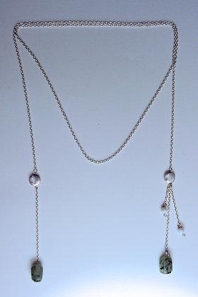 Multi-wearable Quartz Neck Chain