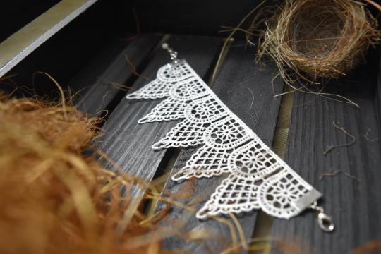 White Lace Bracelets
