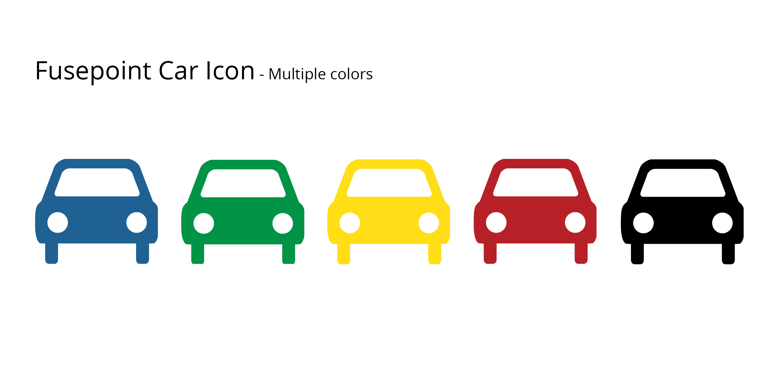 Fusepoint Car Icon Colors