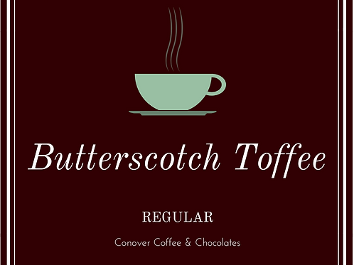 Butterscotch Toffee
