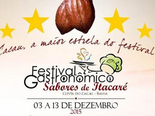 Chefs mostrarão delicias da gastronomia em Itacaré.