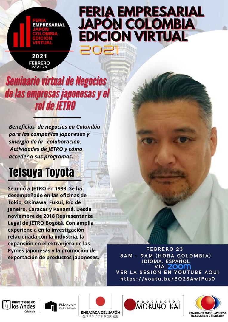 Webinar Tetsuya Toyota