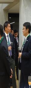 Empresarios Colombianos y Japoneses organizado por la Embajada del Japón y El Mokuyokai  (Centro del Japón Universidad de Los Andes)