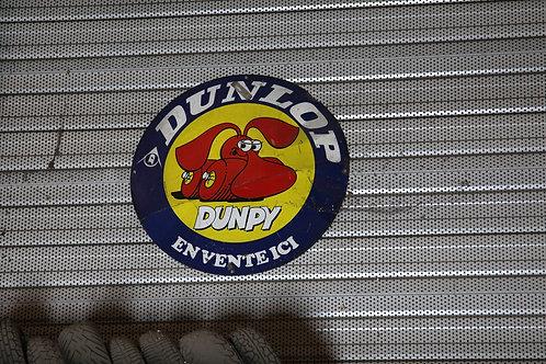 19 - Plaque émaillée DUNLOP Dunpy
