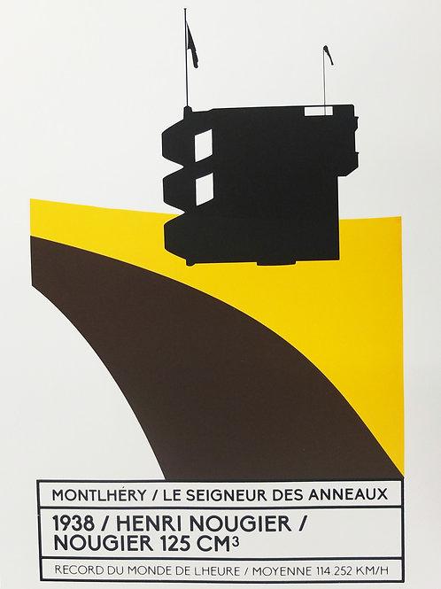 Affiche Montlhéry / Le seigneur des anneaux - N° 1